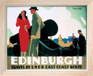 Edinburgh - Cannon by National Railway Museum