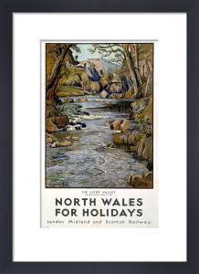 North Wales - Lledr Valley by National Railway Museum