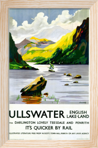 Ullswater - English Lake-Land via Darlington by National Railway Museum