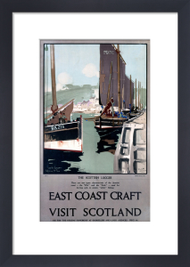 East Coast Craft - Scottish Lugger by National Railway Museum