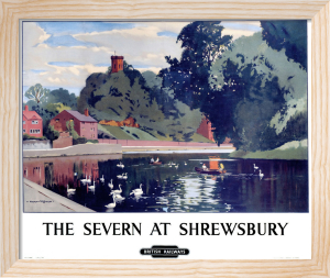 The Severn at Shrewsbury by National Railway Museum