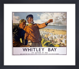 Whitley Bay - Fishermen by National Railway Museum