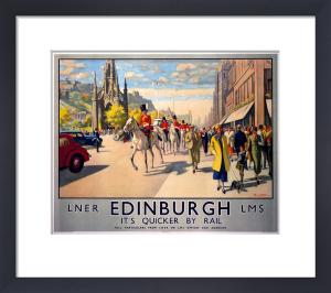 Edinburgh - Princes Street by National Railway Museum