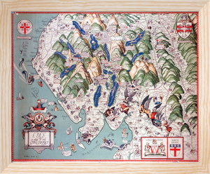 Lake District Map by National Railway Museum