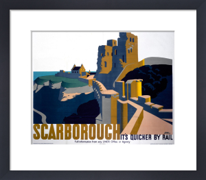 Scarborough - Castle by National Railway Museum