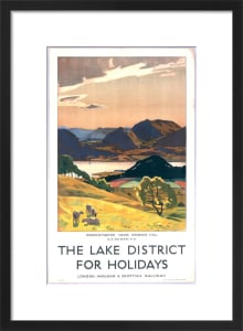 Lake District - Derwentwater from Keswick Hill by National Railway Museum
