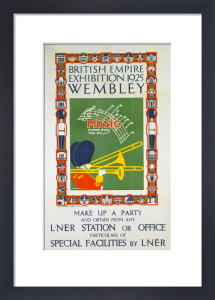 British Empire Exhibition 1925 by National Railway Museum