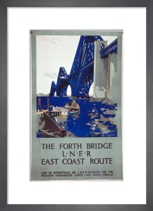 The Forth Bridge by National Railway Museum