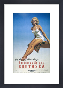 Portsmouth and Southsea for Happy Holidays by National Railway Museum