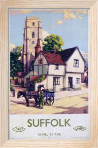 Suffolk - Village Scene by National Railway Museum