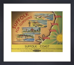Suffolk Coast by National Railway Museum