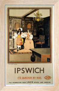 Ipswich - The Ancient House by National Railway Museum