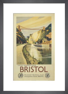 Bristol - Clifton Suspension Bridge by National Railway Museum