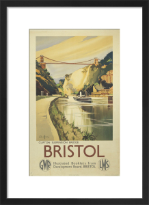 Bristol - Clifton Suspension Bridge by National Railway Museum