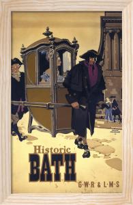 Historic Bath - Sedan Chair by National Railway Museum