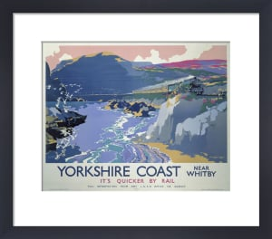 Yorkshire Coast near Whitby by National Railway Museum