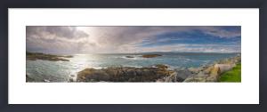 Towards Rum and Skye, Mallaig, Scotland by Richard Osbourne