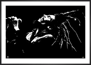Bob Marley - B & W by Anonymous