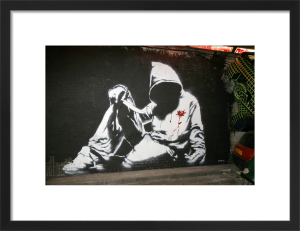 Banksy - Hoodie by Panorama London