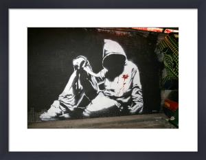 Banksy - Hoodie by Panorama London