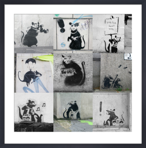 Banksy - Rats Collage by Panorama London
