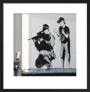 Banksy - Sniper by Panorama London