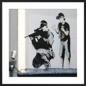 Banksy - Sniper by Panorama London