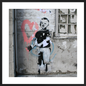 Banksy - Angel by Panorama London