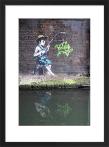Banksy - Camden Lock by Panorama London