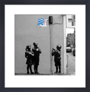 Banksy - Essex Road 2 by Panorama London