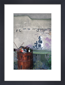 Banksy - Hackney Wick 1 by Panorama London
