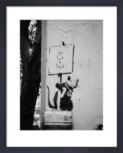 Banksy - Hayne Street by Panorama London