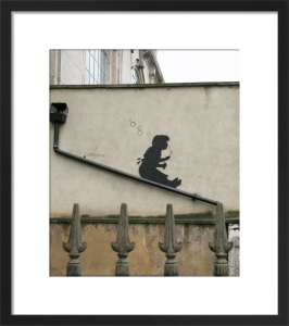 Banksy - Lower Clapton (Colour) by Panorama London