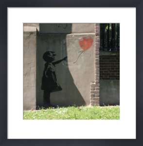 Banksy - New North Road (Colour) by Panorama London