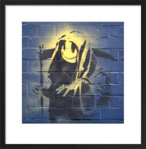 Banksy - Off Moorgate by Panorama London