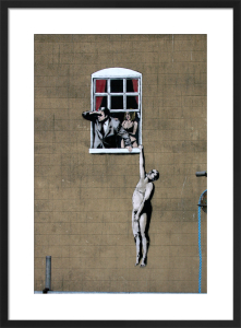 Banksy - Park Street 2 by Panorama London