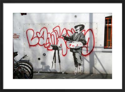 Banksy - Portobello Artist by Panorama London
