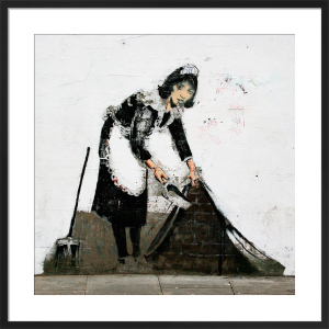 Banksy - Regents Park Road by Panorama London