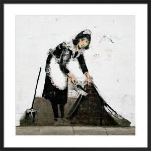 Banksy - Regents Park Road by Panorama London