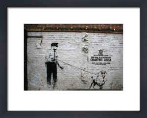 Banksy - Rivington Street by Panorama London