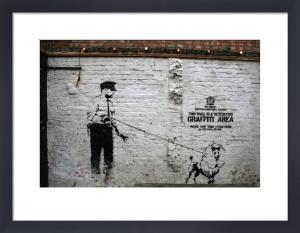 Banksy - Rivington Street by Panorama London