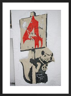 Banksy - Smithfield by Panorama London