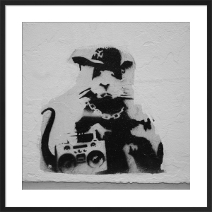 Banksy - Smithfields1 by Panorama London