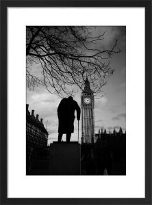 Churchill (B&W) by Panorama London