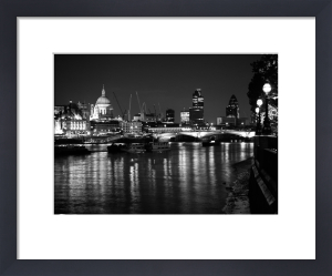 From Waterloo - Night by Panorama London