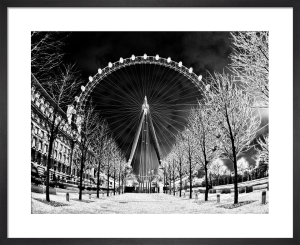 London Eye (Black) by Panorama London