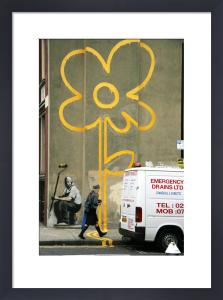 Banksy - Pollard Street Flower by Panorama London