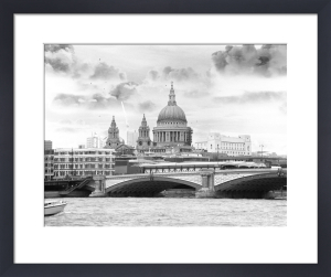 St Pauls and Blackfriars by Panorama London