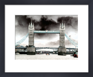 Tower Bridge (Blue) by Panorama London