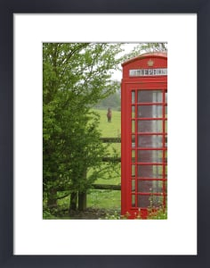 Country Phone Box by Panorama London
